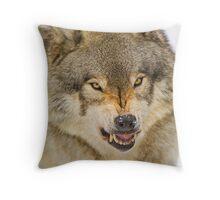 Temper! Throw Pillow