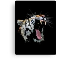 Angry Tiger Canvas Print