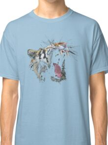 Angry Tiger Classic T-Shirt