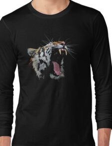 Angry Tiger Long Sleeve T-Shirt
