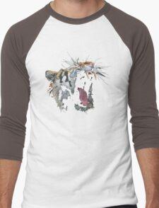 Angry Tiger Men's Baseball ¾ T-Shirt
