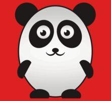 Little Cute Panda Kids Tee