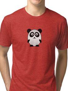 Little Cute Panda Tri-blend T-Shirt