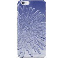 Dandelion In Blue iPhone Case/Skin
