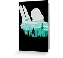Reaper invasion of Earth (Femshep) Greeting Card