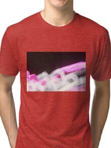 flashing lights Tri-blend T-Shirt
