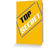 top secret v2 Greeting Card