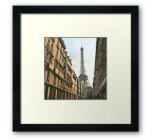 PARIS_View 043 Framed Print