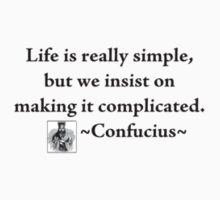 Confucius Say... by Ainsley Kellar Creations