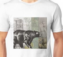 the bear walks through the world Unisex T-Shirt