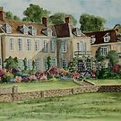 Firle Place England by Charlotte  Blanchard