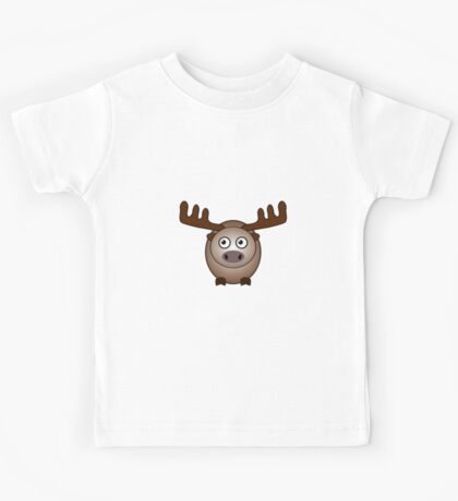 Little Cute Moose Kids Tee