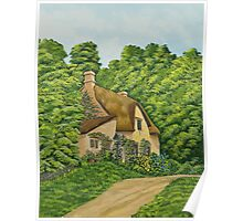 The Charm Of Wiltshire Poster