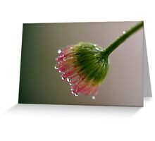 Nectar Fingers Greeting Card
