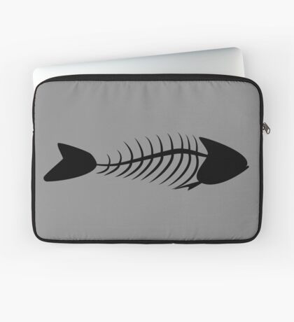 Fish Bone Laptop Sleeve