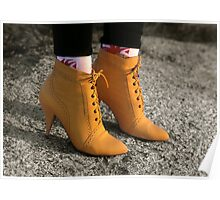 Yellow Boots, (The Eighties)        Poster
