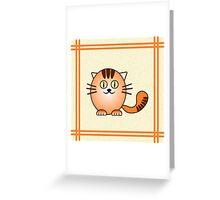 Little Cute Kitty Greeting Card