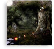 Night Traders Canvas Print