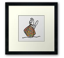 Little Princess Framed Print