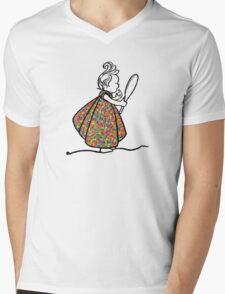 Little Princess Mens V-Neck T-Shirt
