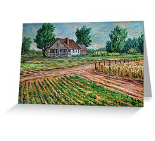 Family Farm Greeting Card
