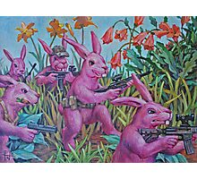 Bunny Recon Photographic Print