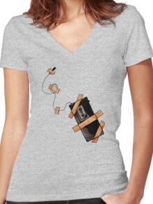 Snitch Women's Fitted V-Neck T-Shirt