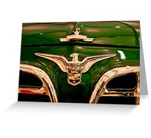 Oldtimer - Vintage car museum, Kuwait Greeting Card