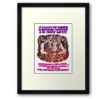 Pregnancy: Women in Pointy Hats Framed Print