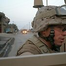 Marines in Fallujah  by Jesse  B.