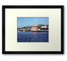 St. Pierre Harbour (1) Framed Print