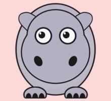 Little Cute Hippopotamus One Piece - Long Sleeve