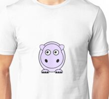 Little Cute Hippopotamus Unisex T-Shirt