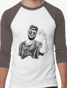 Nick, give me a F*ck Men's Baseball ¾ T-Shirt