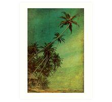 Tropical Vestige Art Print