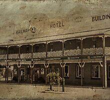 Railway Hotel Grenfell by garts