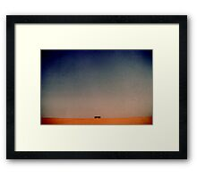 bus to nowhere Framed Print