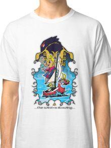 The Wind Is Blowing - Windwaker Fanart Classic T-Shirt