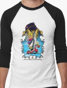 The Wind Is Blowing - Windwaker Fanart Men's Baseball ¾ T-Shirt