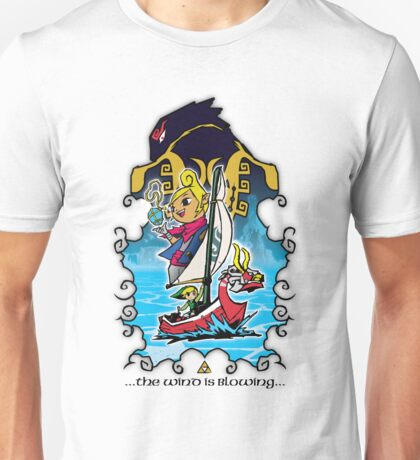 The Wind Is Blowing - Windwaker Fanart Unisex T-Shirt
