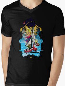 The Wind Is Blowing - Windwaker Fanart Mens V-Neck T-Shirt