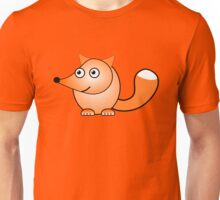 Little Cute Fox Unisex T-Shirt