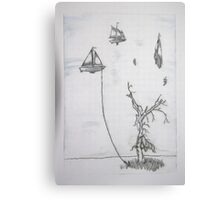 Anchored to Earth  Canvas Print
