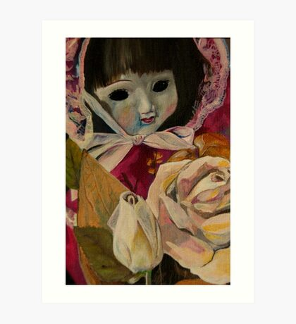 Sally's doll that she receievd after an operation in 1984... or maybe it was 1985? Art Print