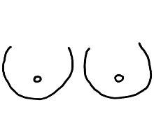 Hand Drawn Boobies by SailorMeg