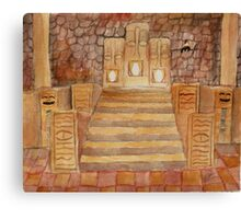 Ocarina of Time: Fire Temple Canvas Print