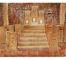 Ocarina of Time: Fire Temple Photographic Print