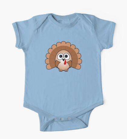Little Cute Turkey One Piece - Short Sleeve