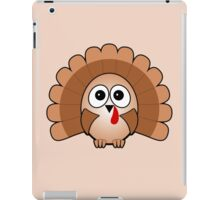 Little Cute Turkey iPad Case/Skin