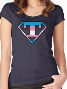 Super Trans Women's Fitted Scoop T-Shirt